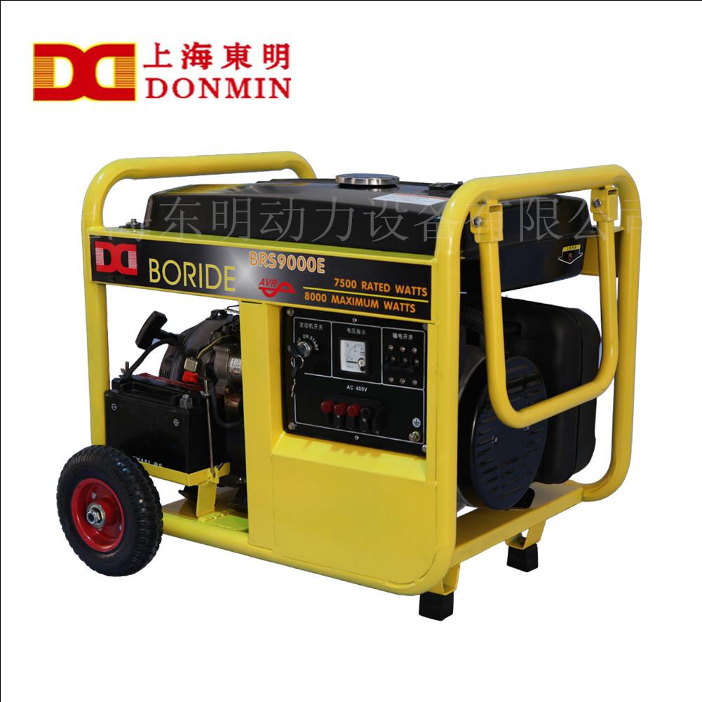 汽油发电机的电子点火器应与外电路的连接