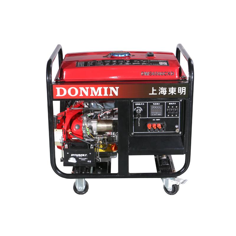 5KW三相市政工程用汽油发电机DMS6500CXD