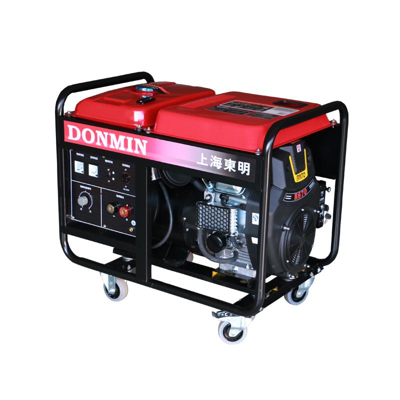 【300A】单相 2KW双缸汽油发电电焊一体机
