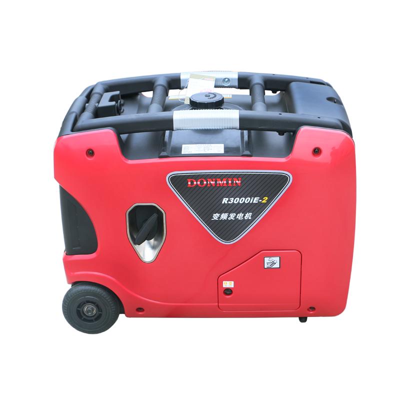 3000w房车发电机 3KW数码变频四冲程手拉式汽油发电机220V静音箱汽油发电机  R3000ie-2 电启动