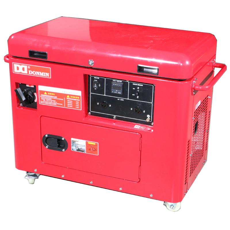 上海东明6KW低噪音汽油发电机组 SG7500  SGS7500