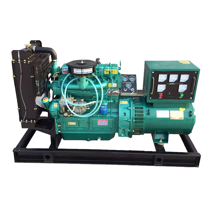 24KW大型柴油发电机组 可定制有刷、无刷电机