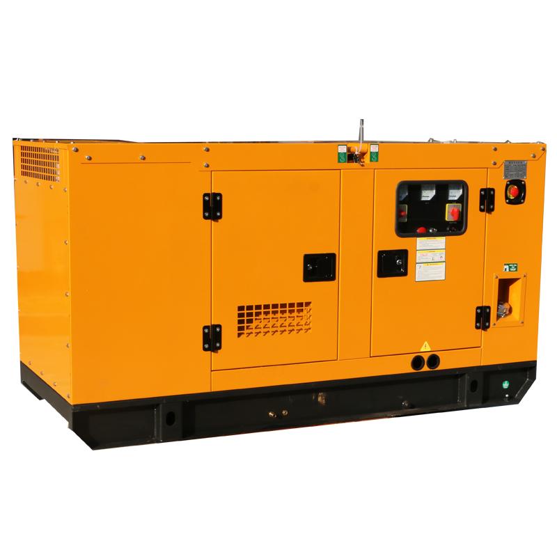 上海东明30KW低噪音静音箱型柴油发电机
