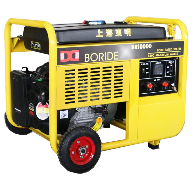 上海东明单相8kW小型汽油发电机组