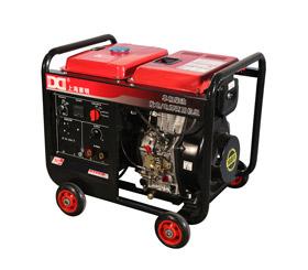 140A单相 5KW柴油发电电焊一体机