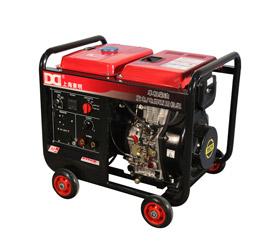 210A单相 5KW柴油发电电焊一体机