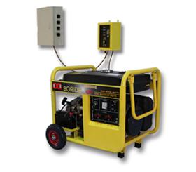 单相7.5kW无人值守ATS小型环亚ag汽油发电机组BR9000ATS