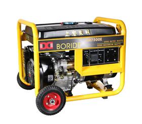 上海东明6千瓦野外施工小型汽油发电机组  BR7500