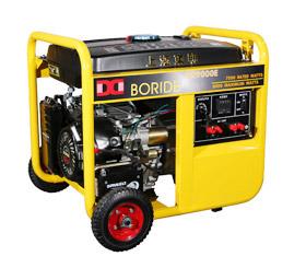 7千瓦单相小型便携式汽』油发电机