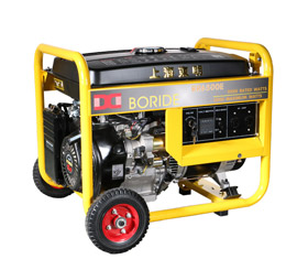 5KW 建筑施工小型单相汽油发电机组