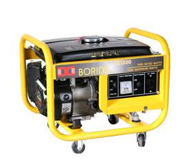 1千瓦户外旅行施工照明小型便携式发电机组
