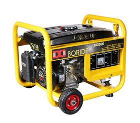 2KW单相小型汽油发电机组BR2500