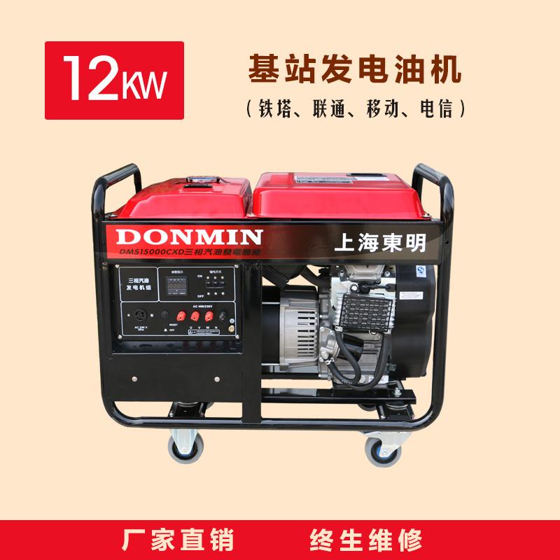 三相12KW通信基站维护发电机【DMS15000CXD】