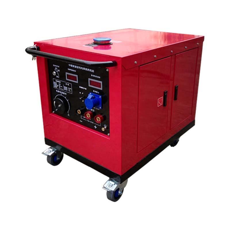 环亚ag柴油中频发电电焊两用机