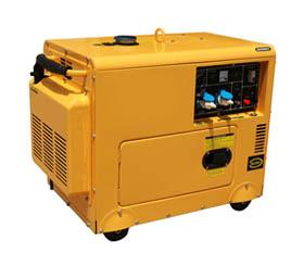 三相380V 低噪音静音箱型12KW 柴油发电机—大型柴油发电机SD15000/3