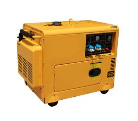 上海东明6KW低噪音柴油发电机组 SD7500  SD7500/3静音箱型柴油发电机