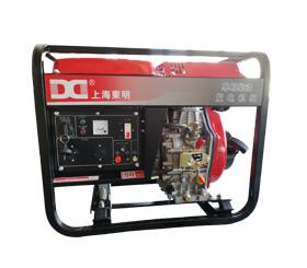 上海环亚ag 新款 单相柴油3KW发电机 便携式 家用柴油发电机