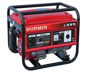 220V3kW小型汽油发电机组 DM3500CX,户外便携式家用汽油发电机