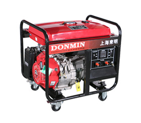 220V 7kW小型环亚ag汽油发电机组 dm9000cx手动