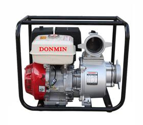 4寸 (100)汽油动力自好���o生�⒌牢�抽水泵 DM40