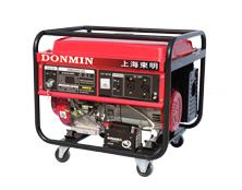 上海环亚ag 5KW单相便携式小型环亚ag汽油发电机组 DM6500CXD电动