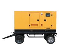 150KW康明斯柴油发电机组 GF3-150静音型柴油发电机组 150kw拖车款柴油发电机组