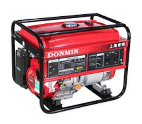 220V 5kW小型环亚ag汽油发电机组 DM6500CX手动