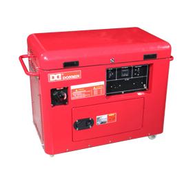 上海东明6KW低噪音汽油发电机组 SG7500  SG7500/3