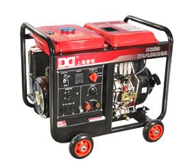 210A单相 5KW柴油发电电你�����五五分了吧焊一体机