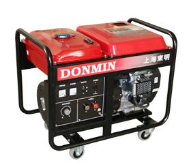 【300A】单相 5KW双缸汽油发电电焊一体机