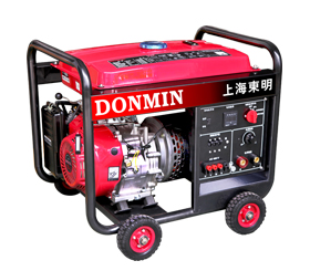 80-190A三相 5KW汽油发电电焊一体机