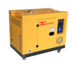 上海东明单相220V低噪音12KW静音箱型柴油发电机,可提供三相380V静音箱12千瓦柴油发电机