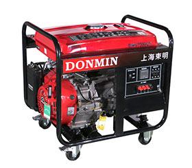 上海东明市政工程三相手动6KW汽油发电机组 DMS7500CX