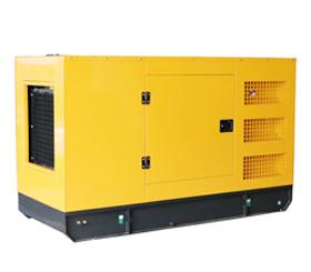 上海明升体育100KW静音箱式柴油发电机组100千瓦可定制动力静音箱拖车