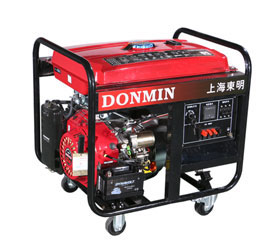 6KW三相汽油发电机组,钥匙电启动发电机DMS7500CXD