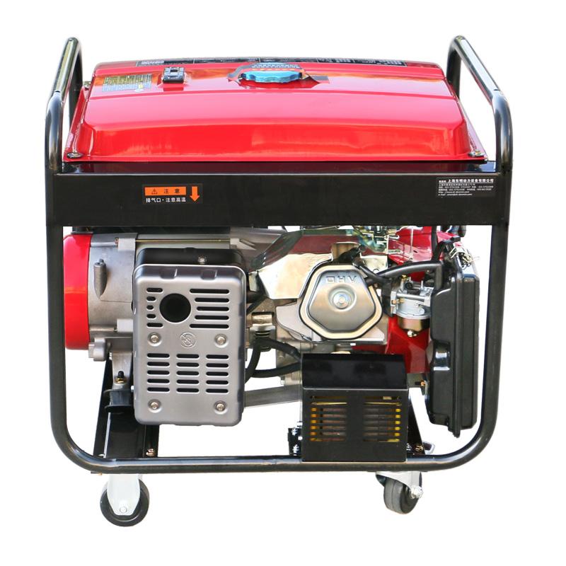 80—190A单相手动 5KW汽油发电电焊一体机