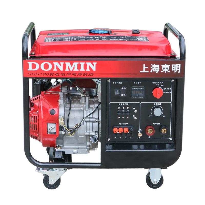 80-190A三相手动 5KW汽油发电电焊一体机