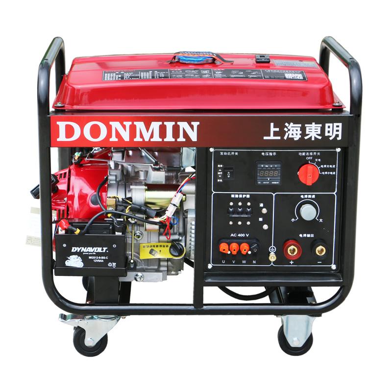 210A三相 电动5KW汽油发电电焊一体机