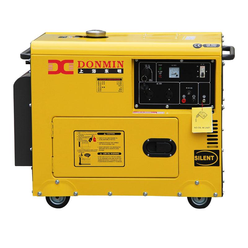 上海东明单相3kw柴油静音发电机SD3500