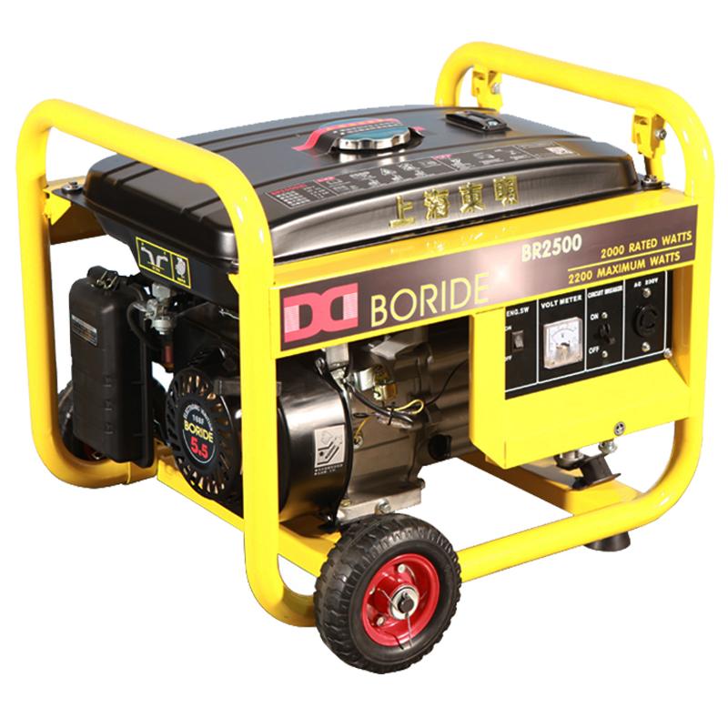 单相2kW小型①汽油发电机组