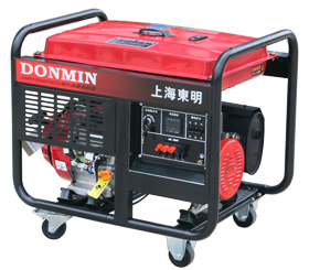 上海东明 三相8KW汽油发电机 DMS10000CX/D 8000W