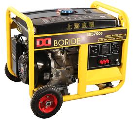 上海东明三相 6kW小型汽油发电机组 BRS7500(E)