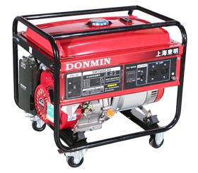 单相6千瓦汽油发电机组电启动DM7500CXD【带移动轮】