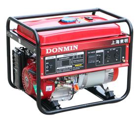 5KW单相小型汽油发电机组【可配备移动轮】DM6500CXD
