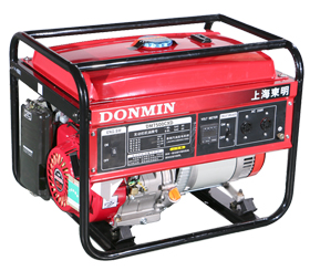 单相6kW小型汽油发电机组【可配备移动轮】DM7500CXD