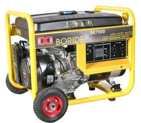 单相6kW小型汽油发电机组  BR7500(E)