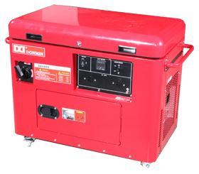 上海东明5KW低噪音静音箱型汽油发电机组 SG6500