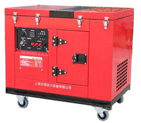 三相10kW低噪音静音箱型汽油发电机 SGS12000