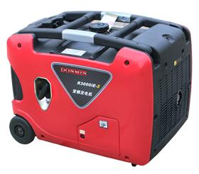3KW静音箱房车数码变频手提式汽油发电机