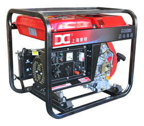 单相柴油3KW发电机便携式柴油发电机DMD3500LE